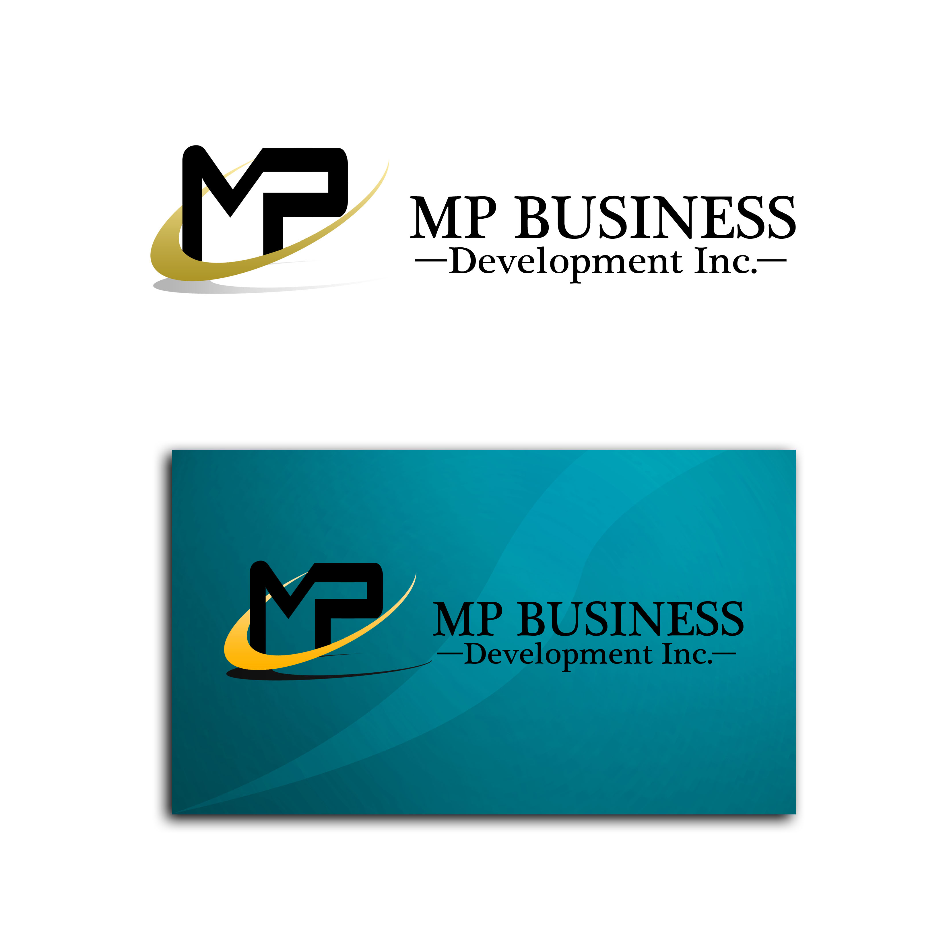 Logo Design by Allan Esclamado - Entry No. 192 in the Logo Design Contest MP Business Development Inc. Logo Design.