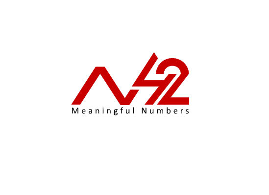 Logo Design by Ismail Adhi Wibowo - Entry No. 80 in the Logo Design Contest Artistic Logo Design for Number 42.