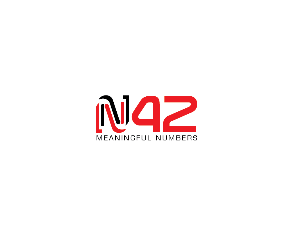 Logo Design by roc - Entry No. 82 in the Logo Design Contest Artistic Logo Design for Number 42.