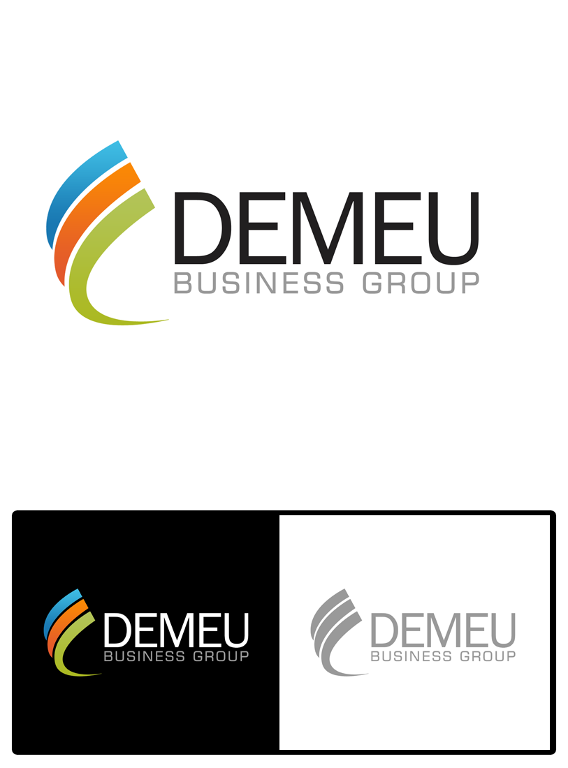 Logo Design by Private User - Entry No. 25 in the Logo Design Contest Captivating Logo Design for DEMEU Business Group.
