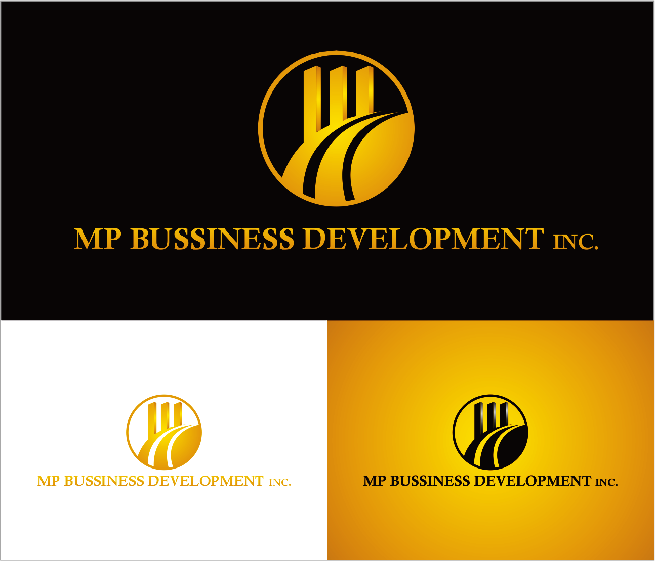 Logo Design by Armada Jamaluddin - Entry No. 195 in the Logo Design Contest MP Business Development Inc. Logo Design.