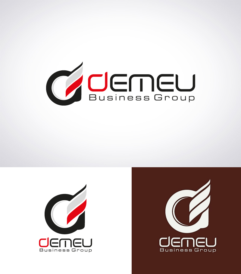Logo Design by Puspita Wahyuni - Entry No. 26 in the Logo Design Contest Captivating Logo Design for DEMEU Business Group.