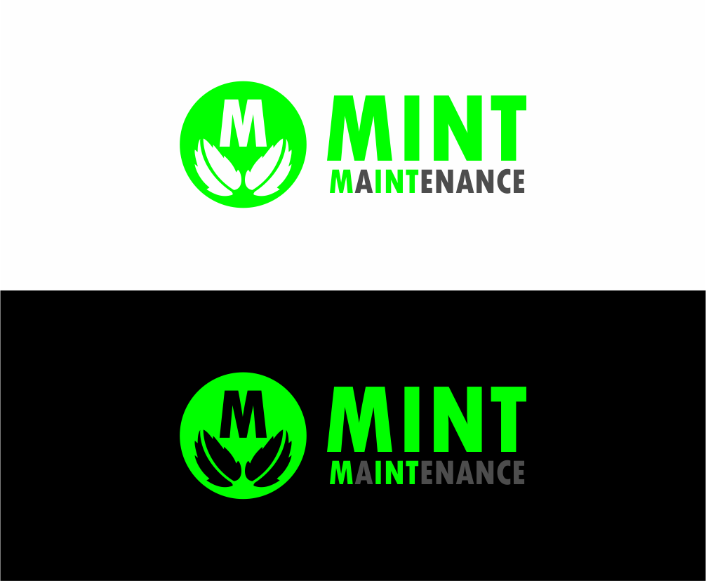 Logo Design by Agus Martoyo - Entry No. 90 in the Logo Design Contest Creative Logo Design for Mint Maintenance.