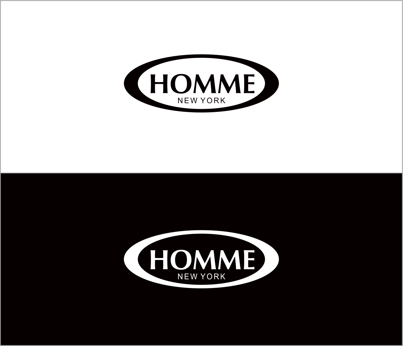 Logo Design by Armada Jamaluddin - Entry No. 36 in the Logo Design Contest Artistic Logo Design for HOMME | NEW YORK.