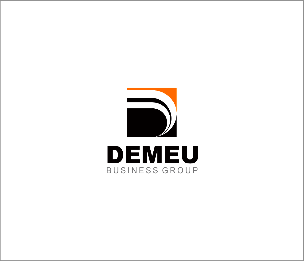Logo Design by Armada Jamaluddin - Entry No. 30 in the Logo Design Contest Captivating Logo Design for DEMEU Business Group.