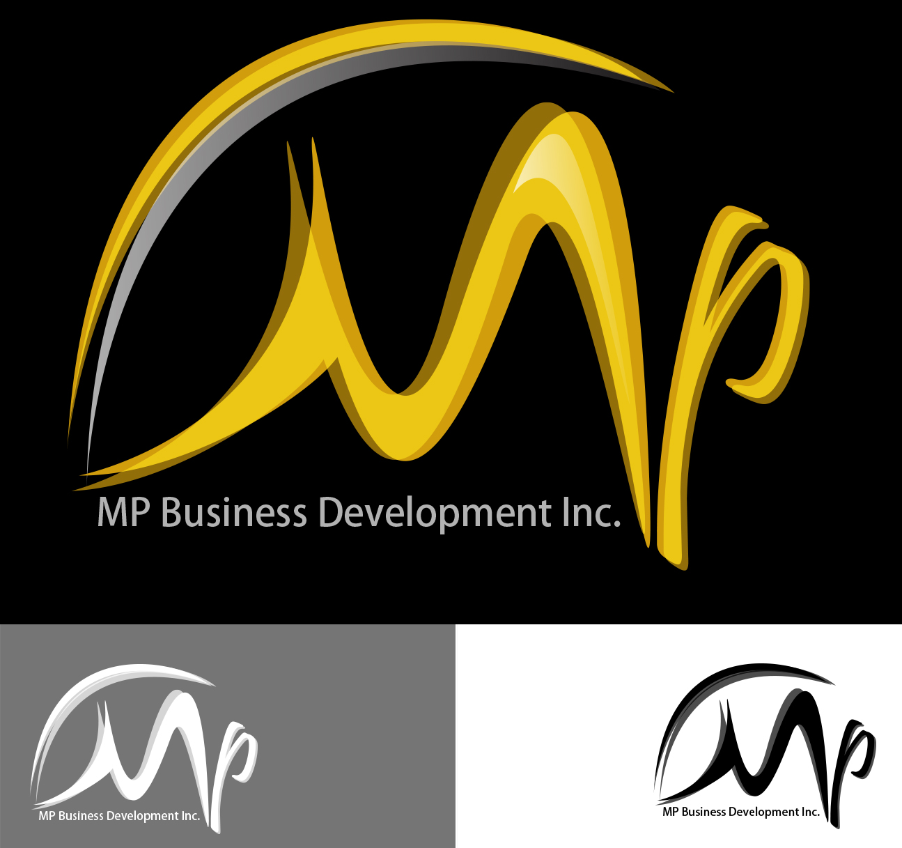 Logo Design by Leonard Anthony Alloso - Entry No. 204 in the Logo Design Contest MP Business Development Inc. Logo Design.