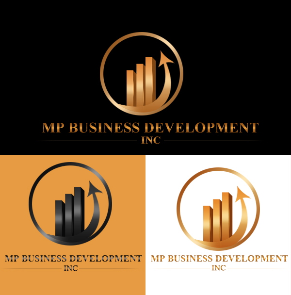 Logo Design by Crystal Desizns - Entry No. 206 in the Logo Design Contest MP Business Development Inc. Logo Design.