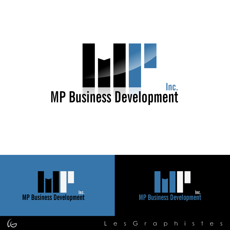 Logo Design by Les-Graphistes - Entry No. 210 in the Logo Design Contest MP Business Development Inc. Logo Design.
