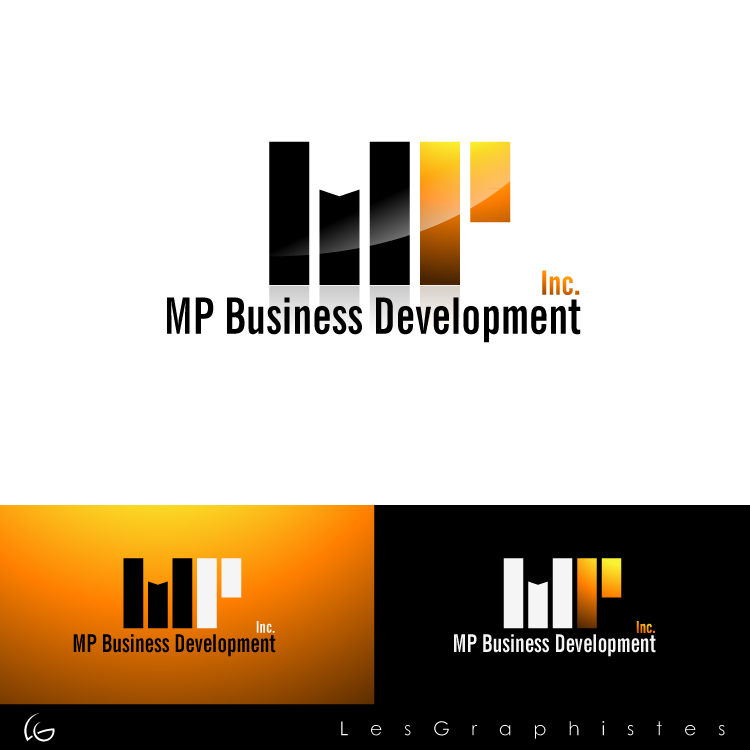 Logo Design by Les-Graphistes - Entry No. 211 in the Logo Design Contest MP Business Development Inc. Logo Design.