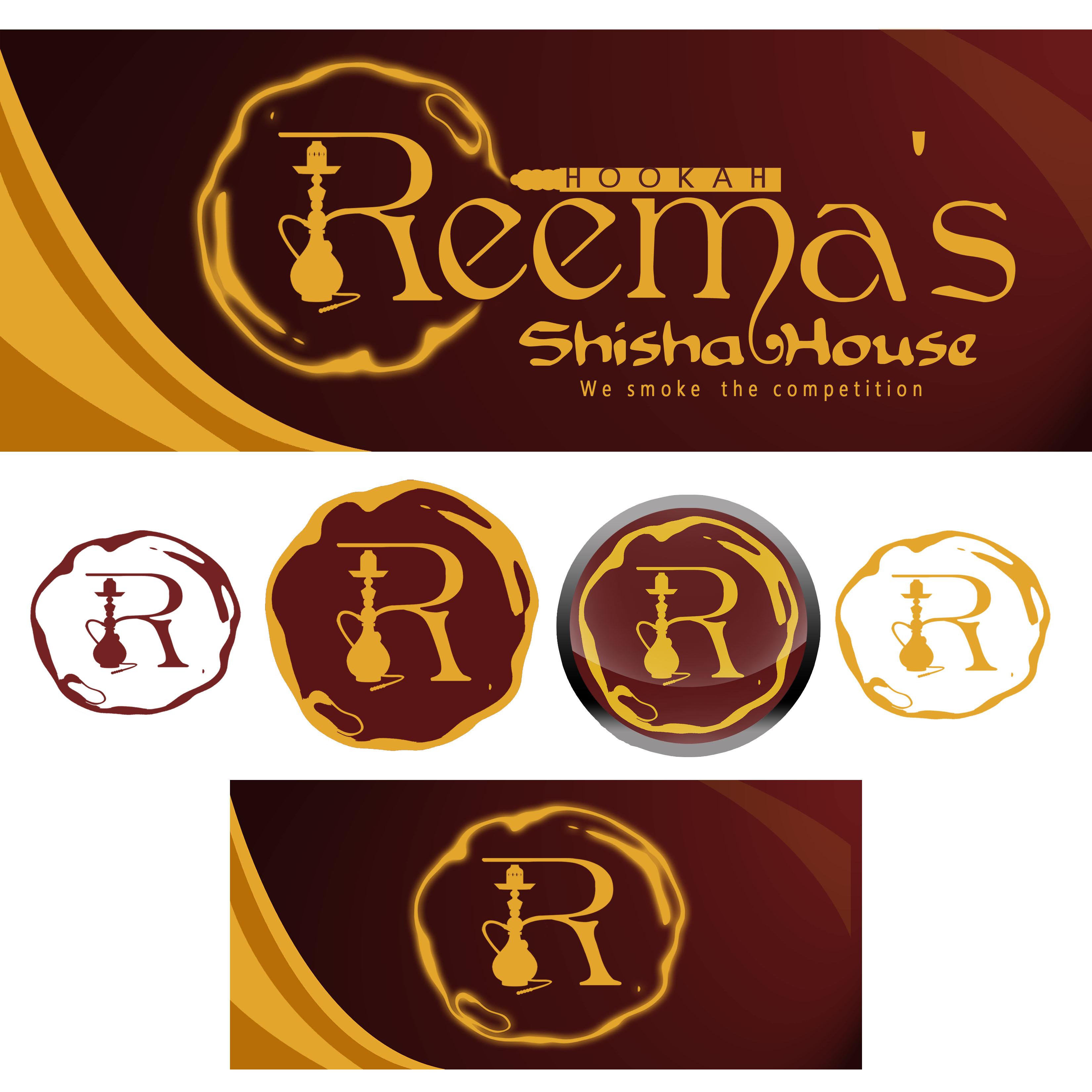 Logo Design by Allan Esclamado - Entry No. 68 in the Logo Design Contest Captivating Logo Design for Reema's Shisha House.