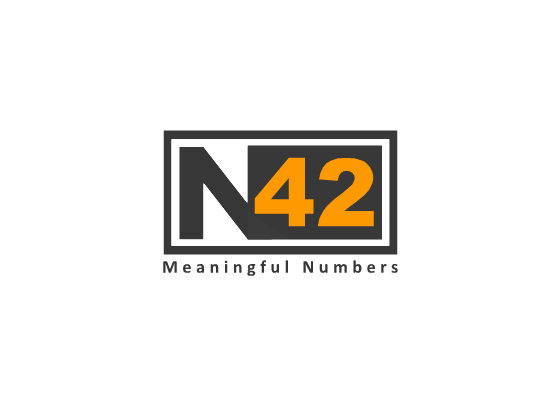 Logo Design by Ismail Adhi Wibowo - Entry No. 95 in the Logo Design Contest Artistic Logo Design for Number 42.