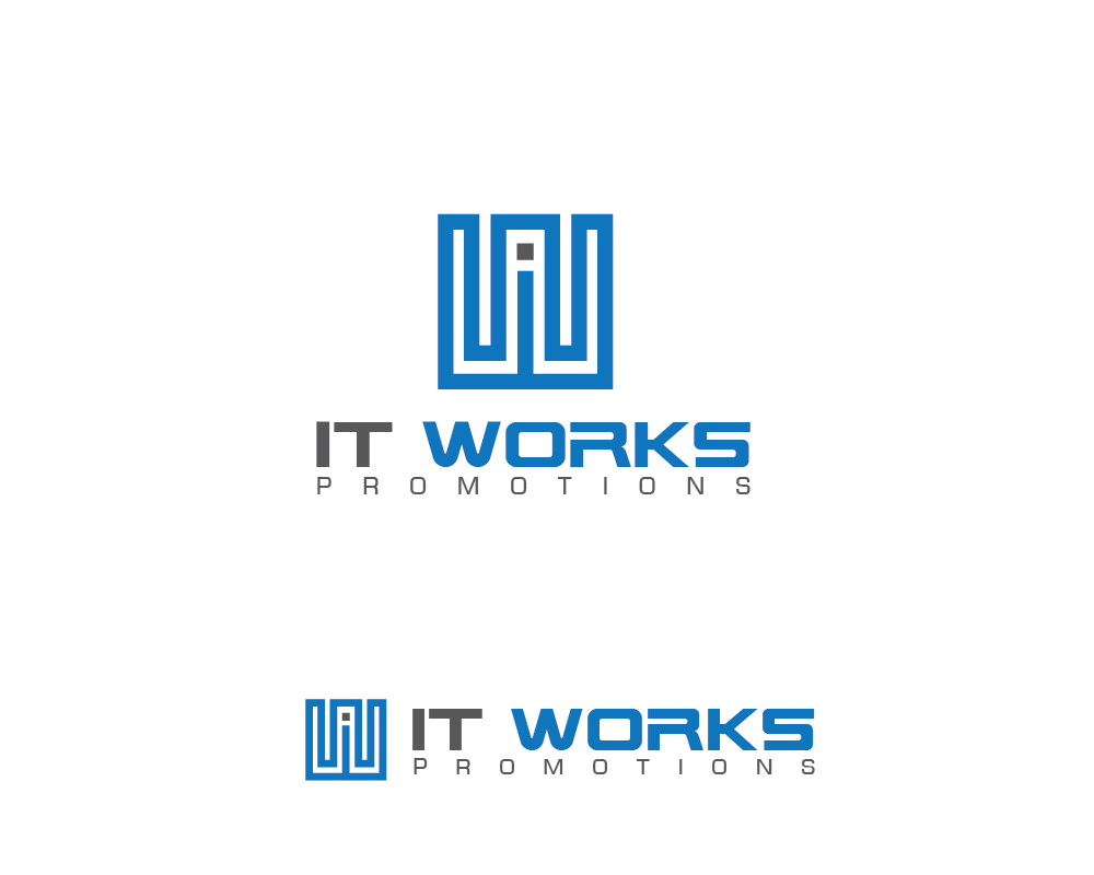 Logo Design by roc - Entry No. 5 in the Logo Design Contest Creative Logo Design for It Works Promotions.