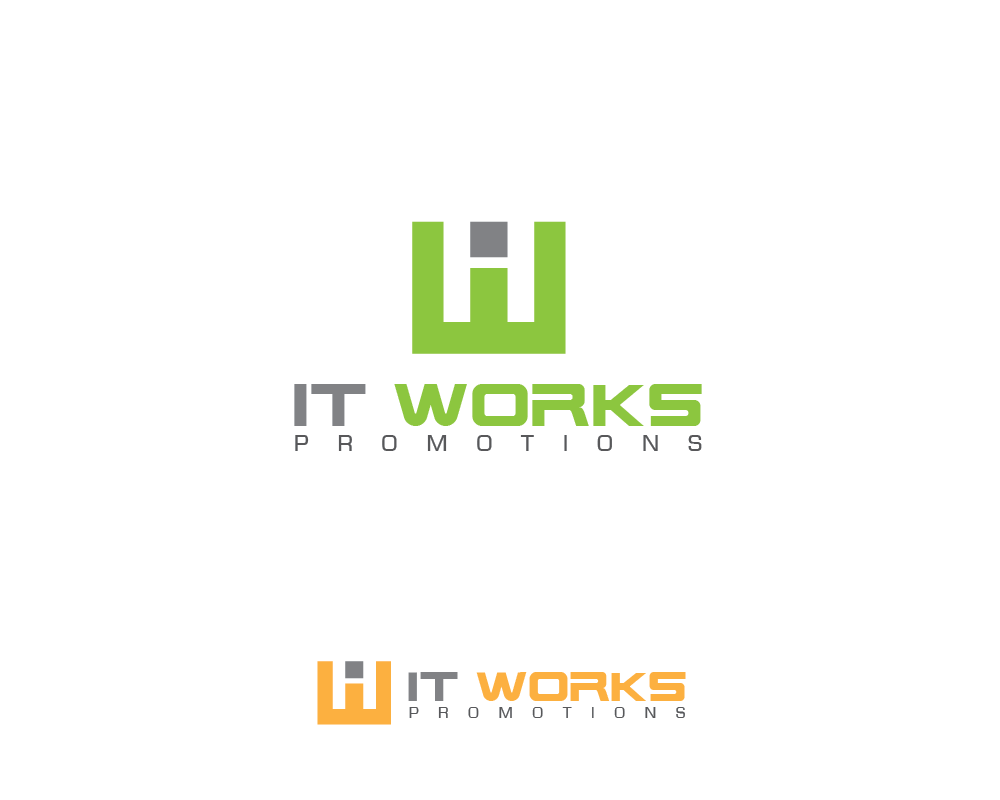 Logo Design by roc - Entry No. 6 in the Logo Design Contest Creative Logo Design for It Works Promotions.