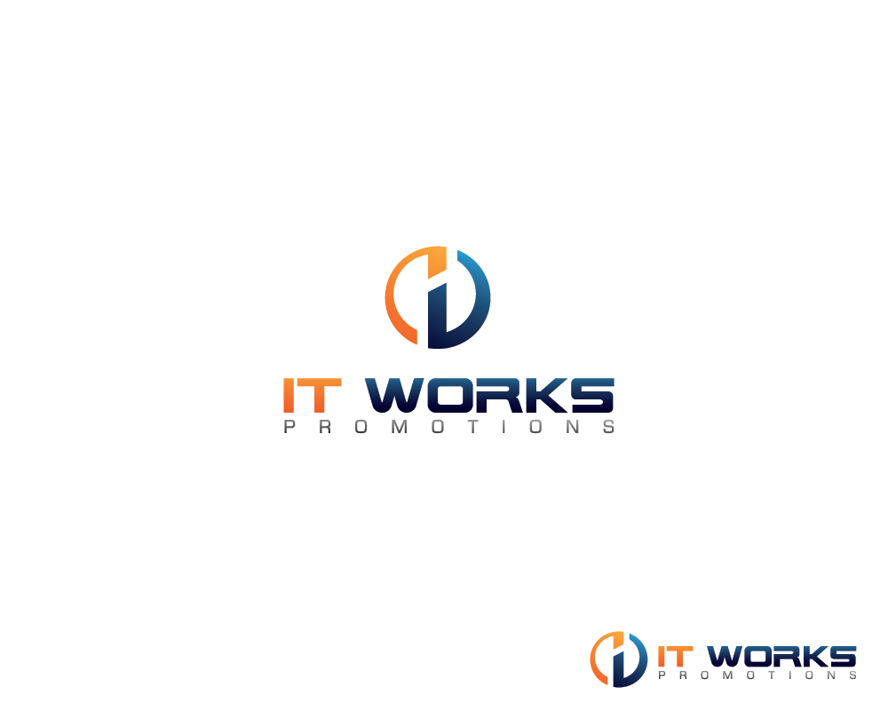 Logo Design by roc - Entry No. 8 in the Logo Design Contest Creative Logo Design for It Works Promotions.