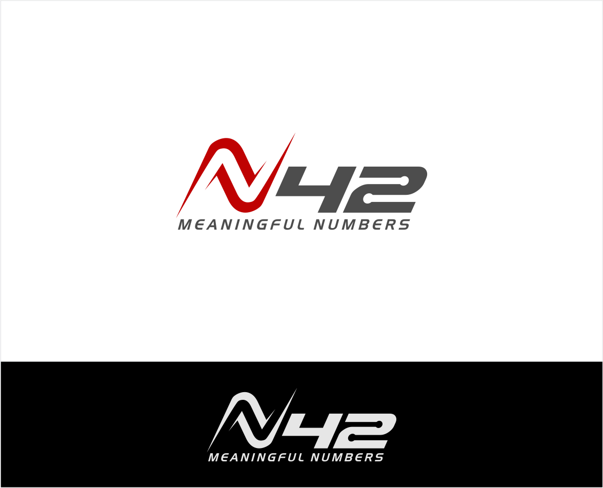 Logo Design by haidu - Entry No. 98 in the Logo Design Contest Artistic Logo Design for Number 42.