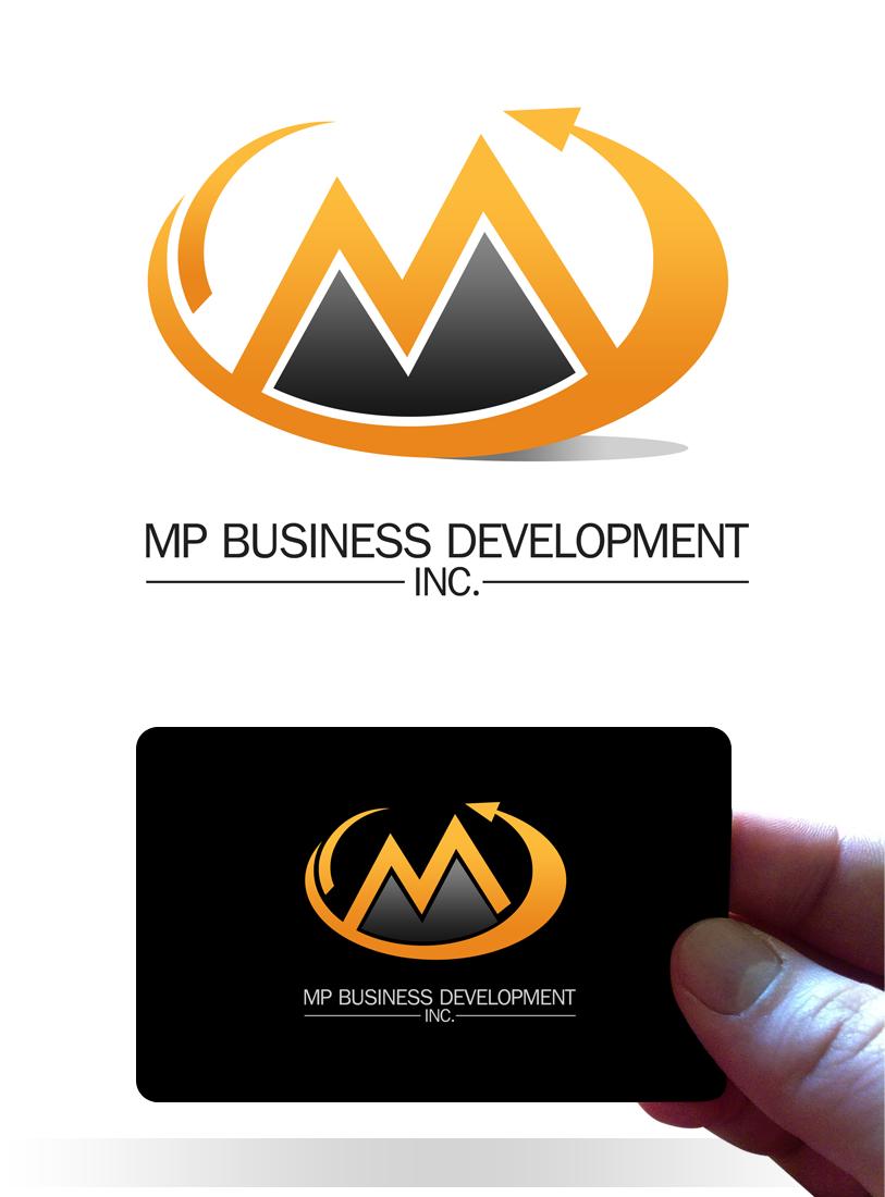 Logo Design by Robert Turla - Entry No. 218 in the Logo Design Contest MP Business Development Inc. Logo Design.