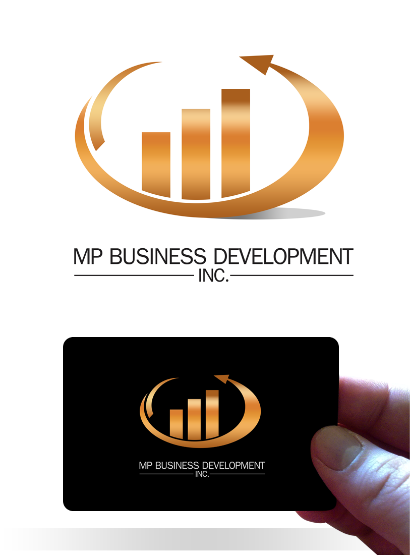 Logo Design by Robert Turla - Entry No. 220 in the Logo Design Contest MP Business Development Inc. Logo Design.