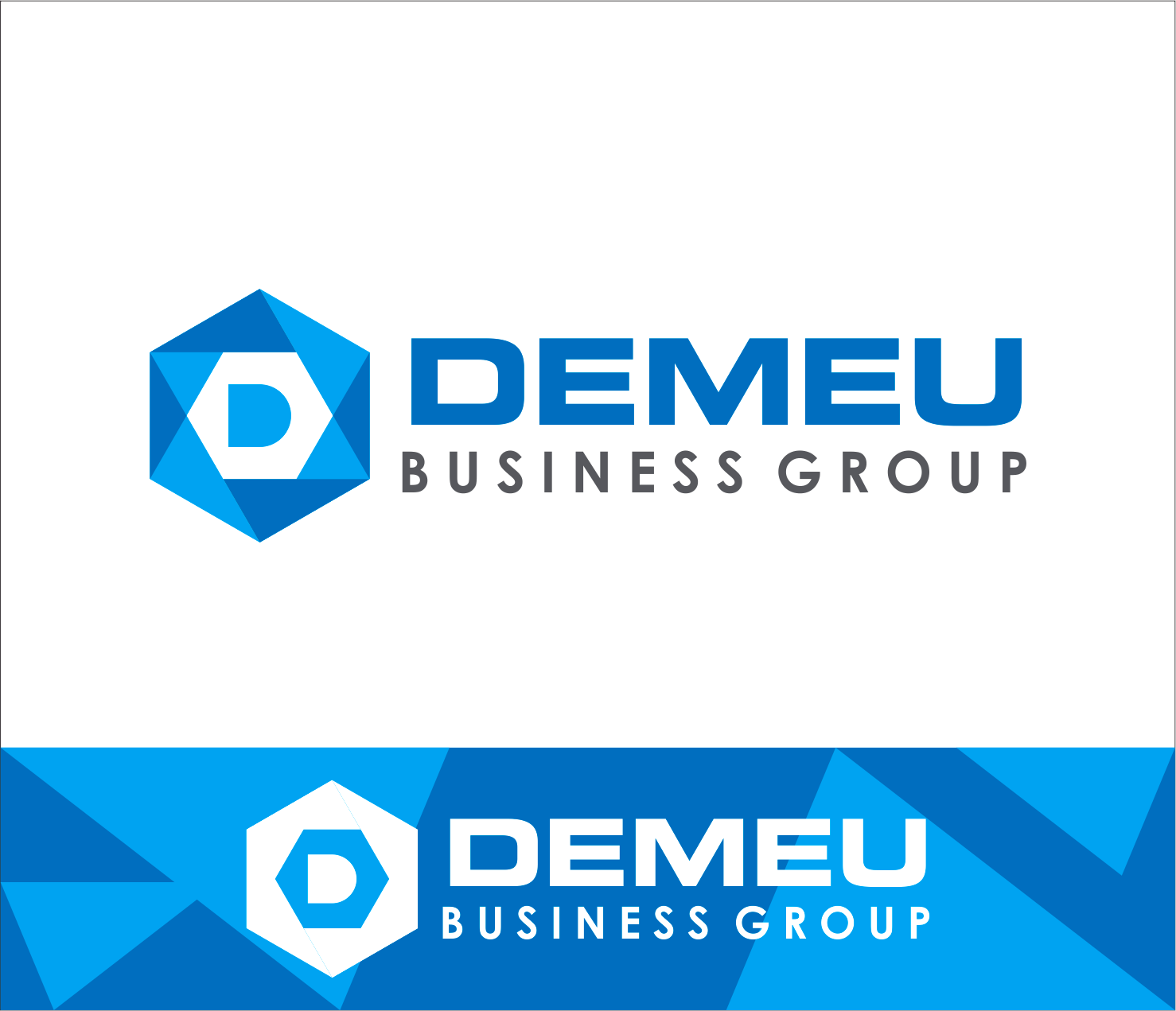 Logo Design by Armada Jamaluddin - Entry No. 32 in the Logo Design Contest Captivating Logo Design for DEMEU Business Group.