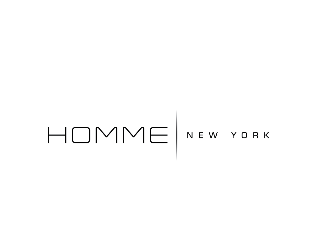 Logo Design by roc - Entry No. 42 in the Logo Design Contest Artistic Logo Design for HOMME | NEW YORK.