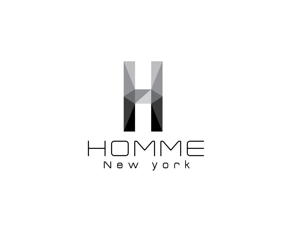 Logo Design by roc - Entry No. 43 in the Logo Design Contest Artistic Logo Design for HOMME | NEW YORK.