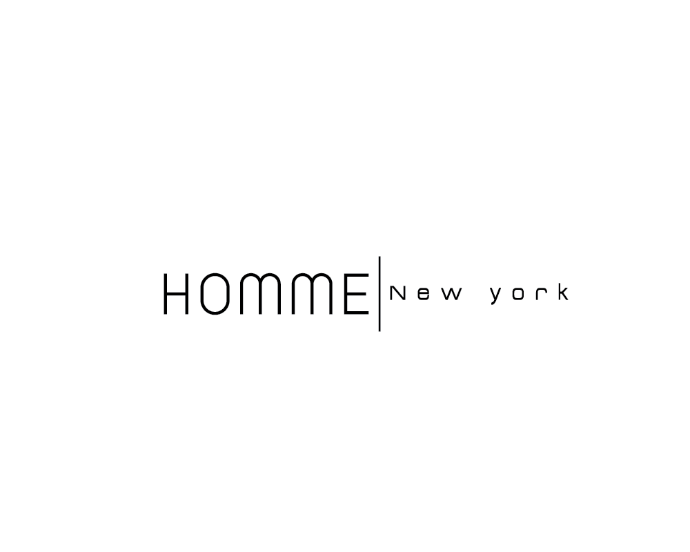 Logo Design by roc - Entry No. 44 in the Logo Design Contest Artistic Logo Design for HOMME | NEW YORK.