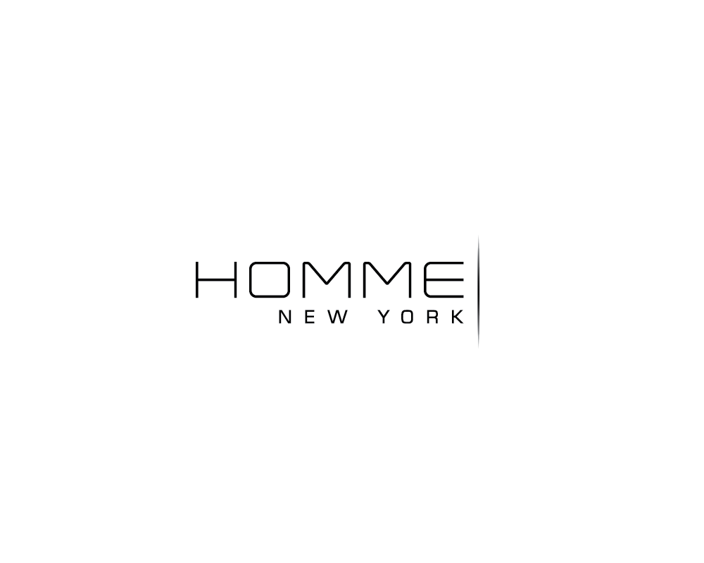 Logo Design by roc - Entry No. 46 in the Logo Design Contest Artistic Logo Design for HOMME | NEW YORK.