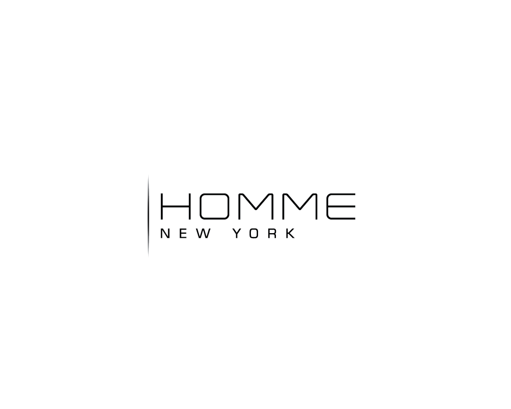 Logo Design by roc - Entry No. 47 in the Logo Design Contest Artistic Logo Design for HOMME | NEW YORK.