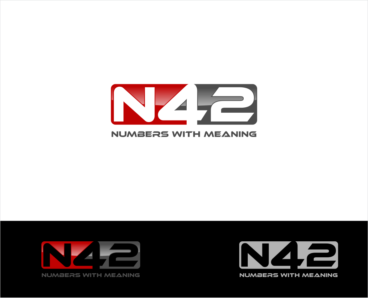 Logo Design by haidu - Entry No. 100 in the Logo Design Contest Artistic Logo Design for Number 42.