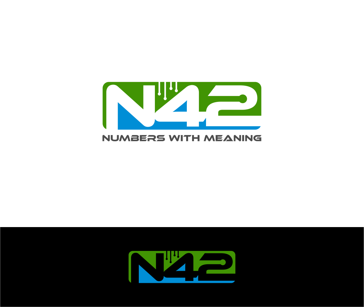 Logo Design by haidu - Entry No. 101 in the Logo Design Contest Artistic Logo Design for Number 42.