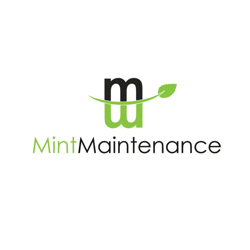 Logo Design by Private User - Entry No. 110 in the Logo Design Contest Creative Logo Design for Mint Maintenance.