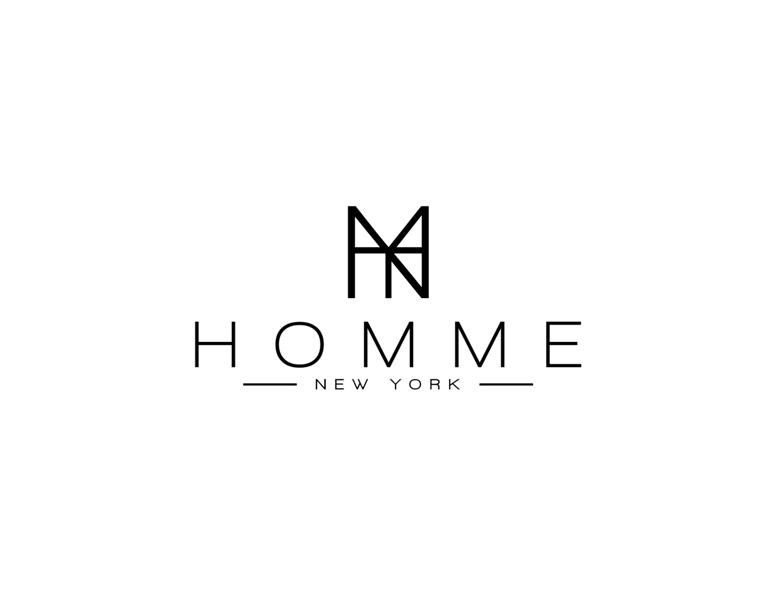 Logo Design by Juan_Kata - Entry No. 49 in the Logo Design Contest Artistic Logo Design for HOMME | NEW YORK.
