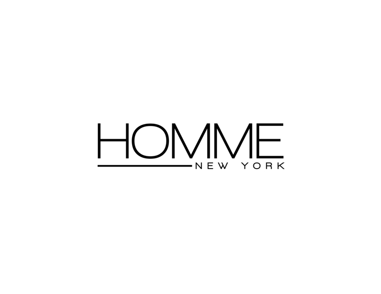 Logo Design by Juan_Kata - Entry No. 50 in the Logo Design Contest Artistic Logo Design for HOMME | NEW YORK.