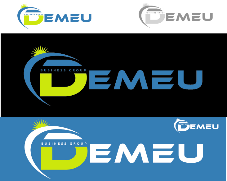 Logo Design by VENTSISLAV KOVACHEV - Entry No. 38 in the Logo Design Contest Captivating Logo Design for DEMEU Business Group.