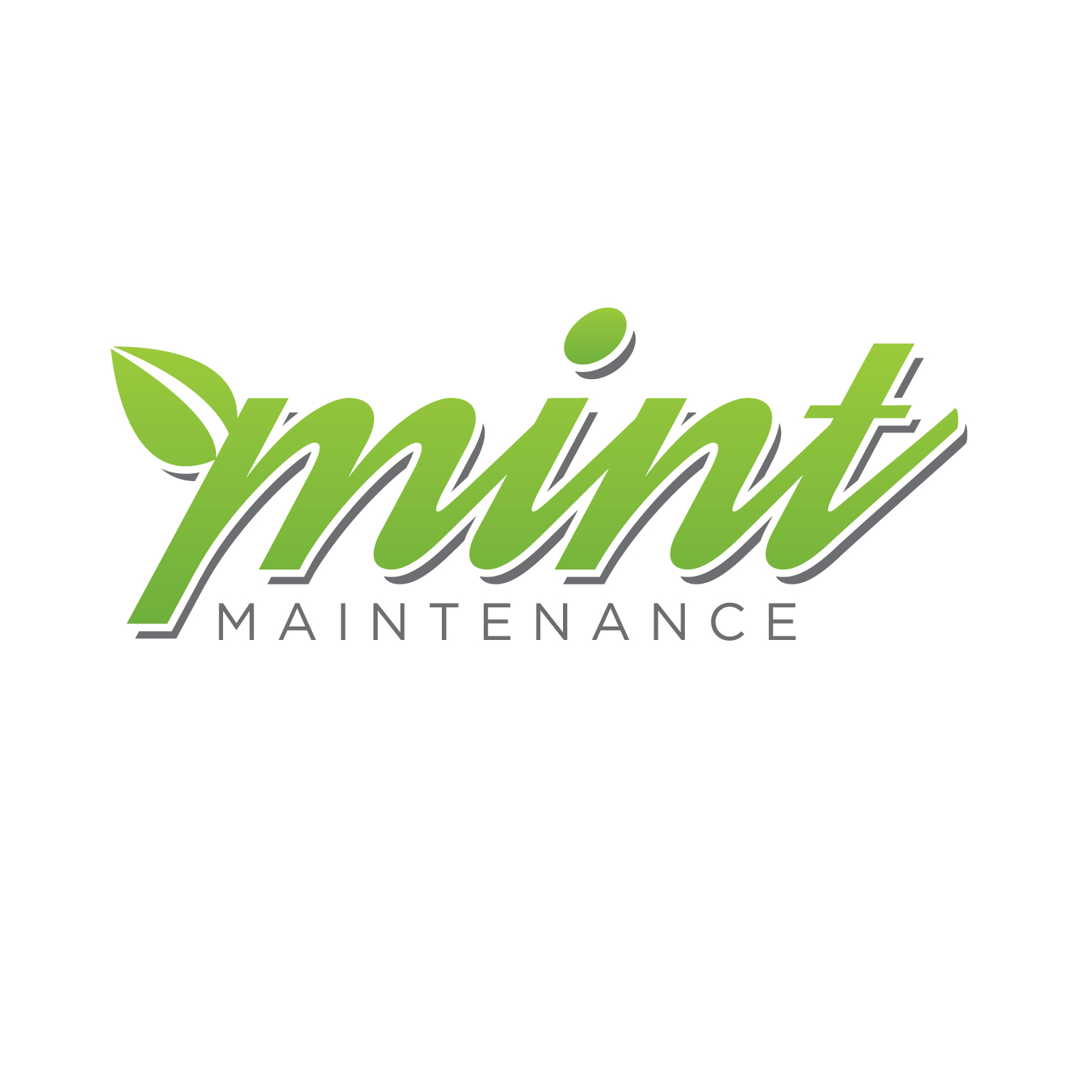Logo Design by Private User - Entry No. 115 in the Logo Design Contest Creative Logo Design for Mint Maintenance.