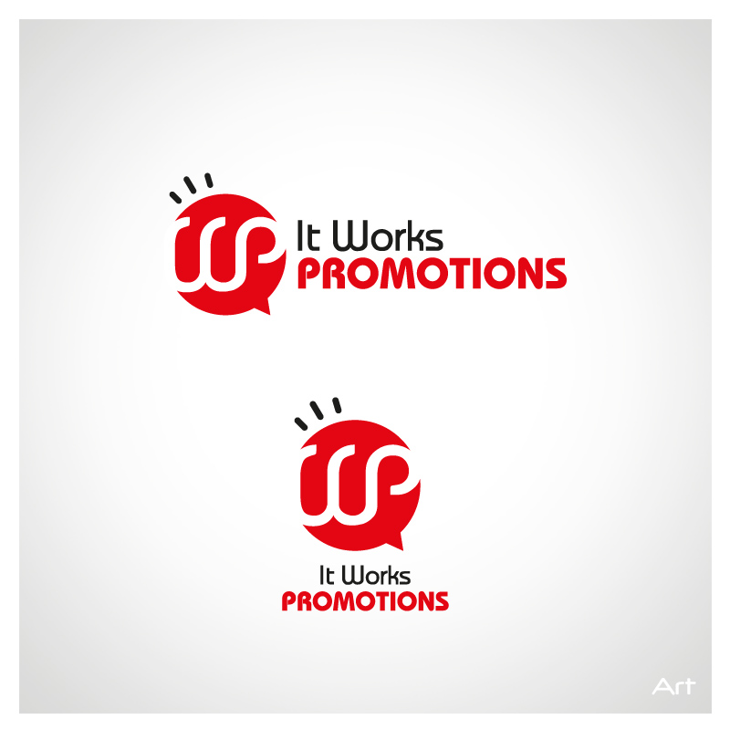 Logo Design by Puspita Wahyuni - Entry No. 10 in the Logo Design Contest Creative Logo Design for It Works Promotions.