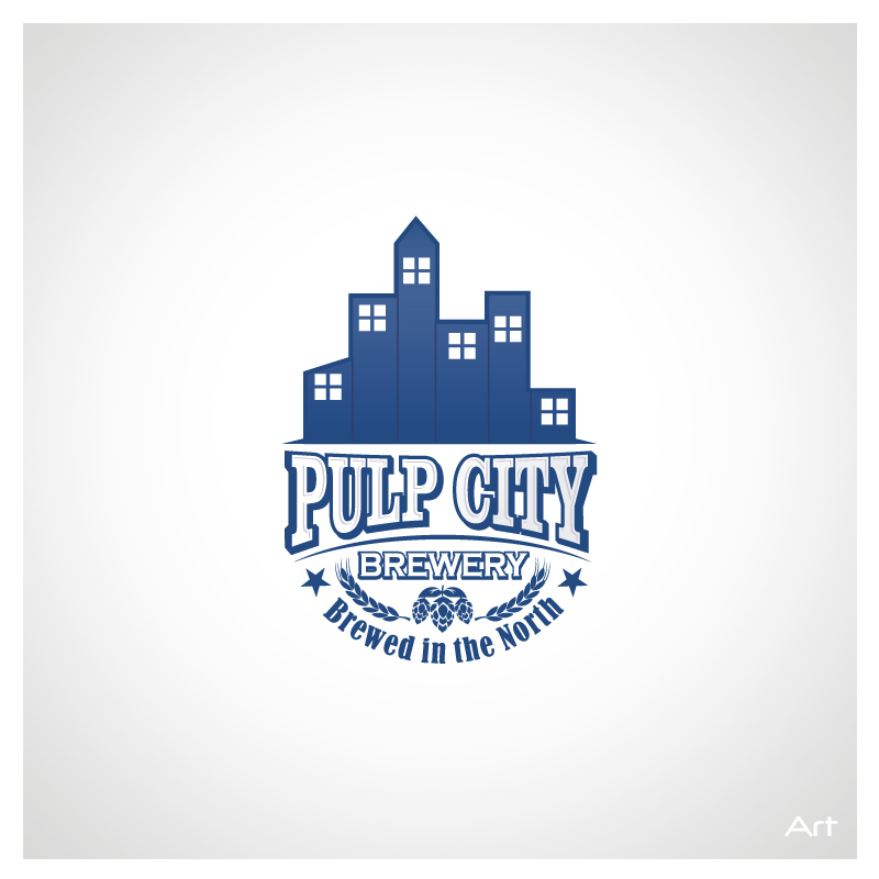 Logo Design by Puspita Wahyuni - Entry No. 1 in the Logo Design Contest Artistic Logo Design for Pulp City Brewery.