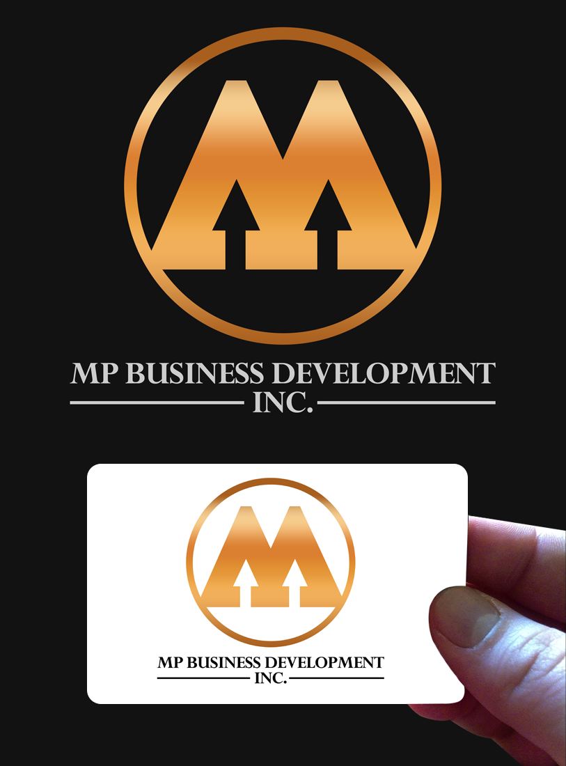 Logo Design by Robert Turla - Entry No. 231 in the Logo Design Contest MP Business Development Inc. Logo Design.
