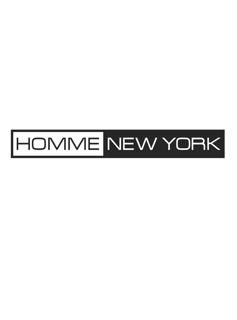 Logo Design by Robert Turla - Entry No. 53 in the Logo Design Contest Artistic Logo Design for HOMME | NEW YORK.