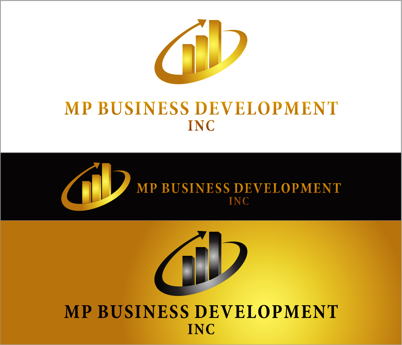 Logo Design by Armada Jamaluddin - Entry No. 234 in the Logo Design Contest MP Business Development Inc. Logo Design.