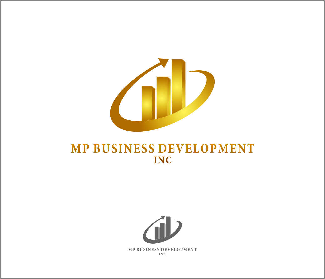 Logo Design by Armada Jamaluddin - Entry No. 236 in the Logo Design Contest MP Business Development Inc. Logo Design.
