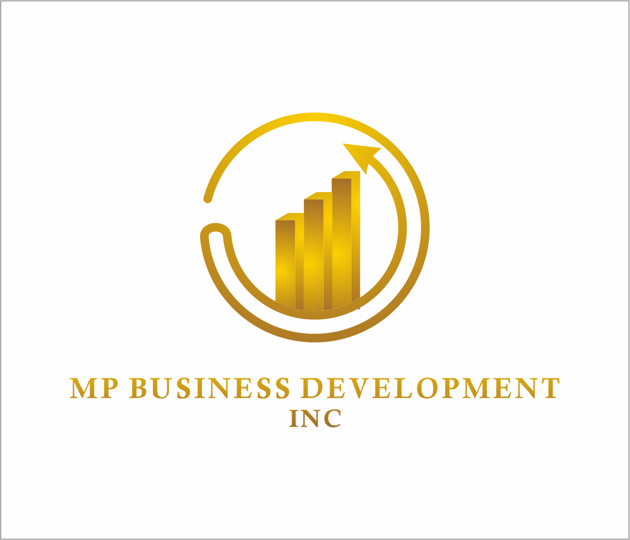 Logo Design by Armada Jamaluddin - Entry No. 237 in the Logo Design Contest MP Business Development Inc. Logo Design.