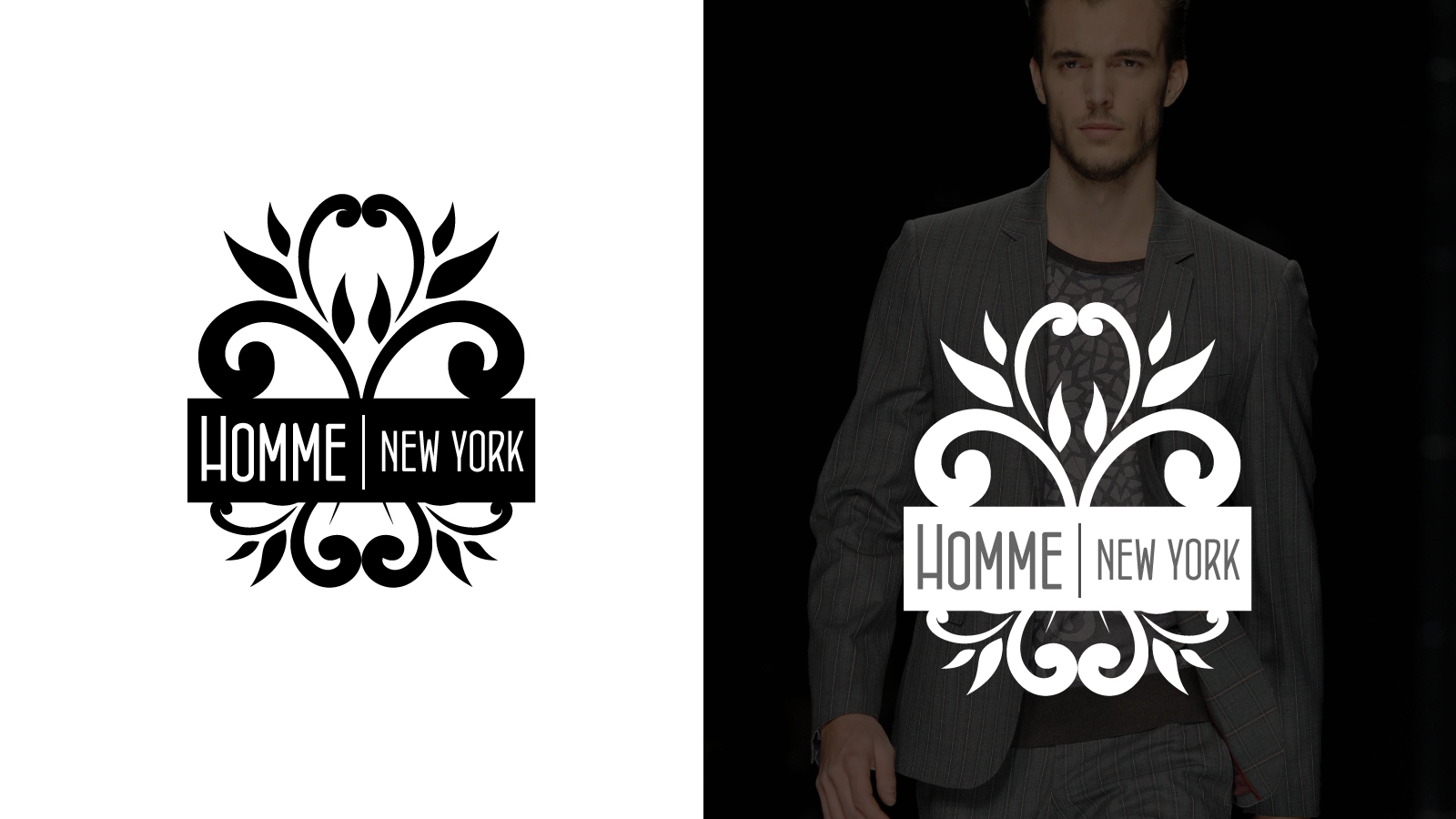 Logo Design by Jagdeep Singh - Entry No. 60 in the Logo Design Contest Artistic Logo Design for HOMME | NEW YORK.