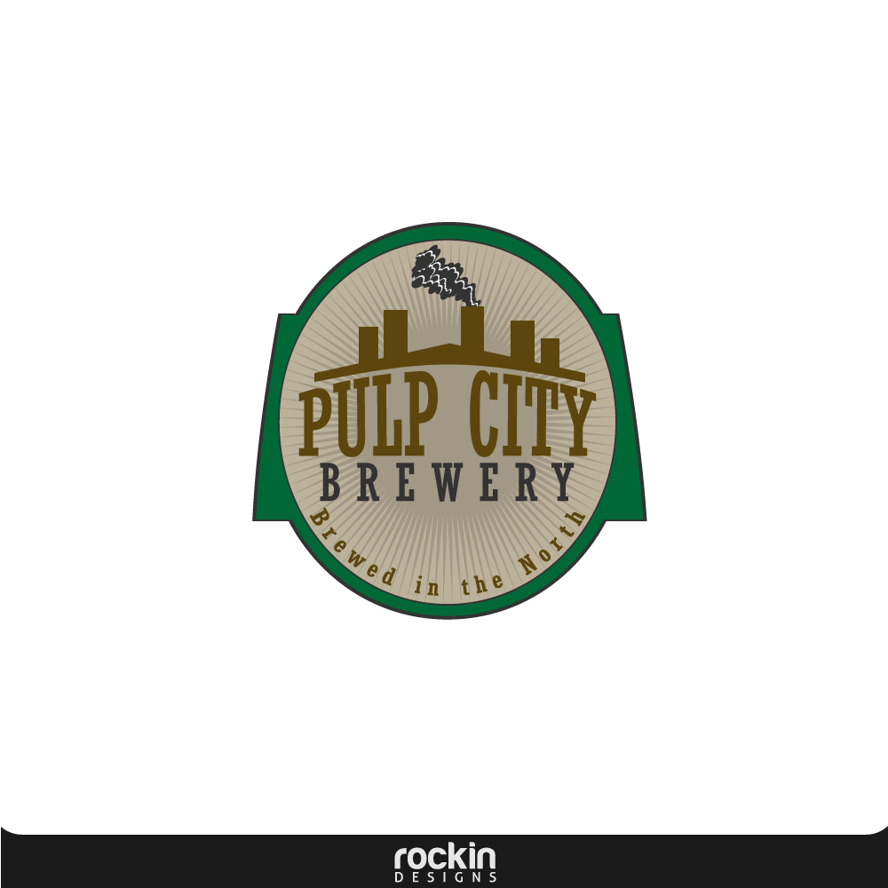 Logo Design by rockin - Entry No. 4 in the Logo Design Contest Artistic Logo Design for Pulp City Brewery.