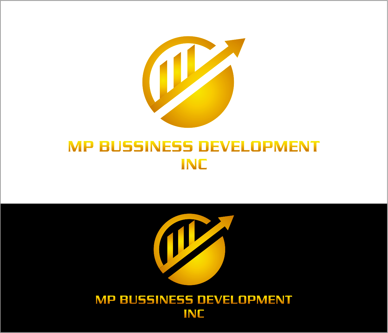 Logo Design by Armada Jamaluddin - Entry No. 239 in the Logo Design Contest MP Business Development Inc. Logo Design.