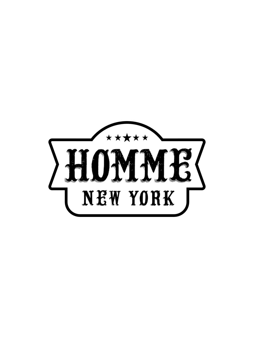 Logo Design by Ngepet_art - Entry No. 61 in the Logo Design Contest Artistic Logo Design for HOMME | NEW YORK.