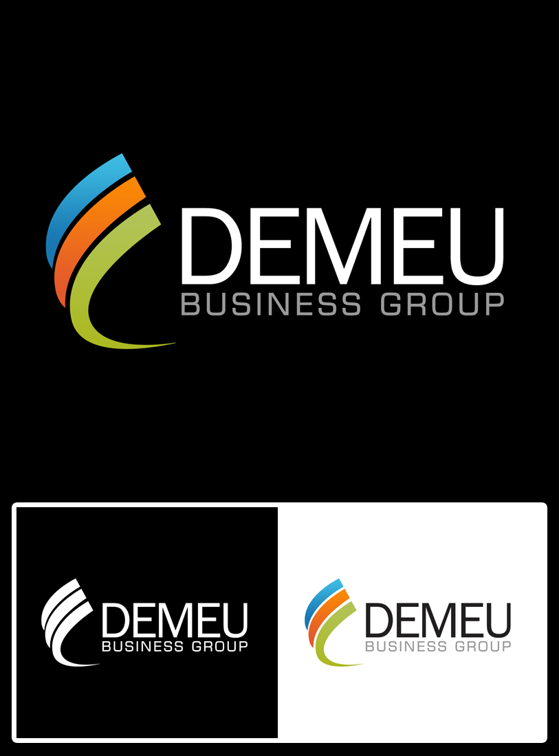 Logo Design by Private User - Entry No. 41 in the Logo Design Contest Captivating Logo Design for DEMEU Business Group.