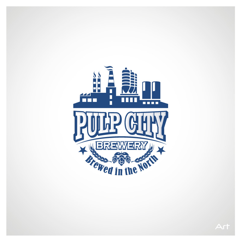 Logo Design by Puspita Wahyuni - Entry No. 6 in the Logo Design Contest Artistic Logo Design for Pulp City Brewery.