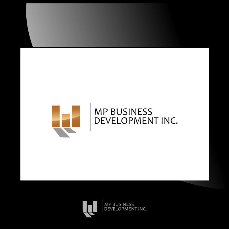 Logo Design by graphicleaf - Entry No. 240 in the Logo Design Contest MP Business Development Inc. Logo Design.