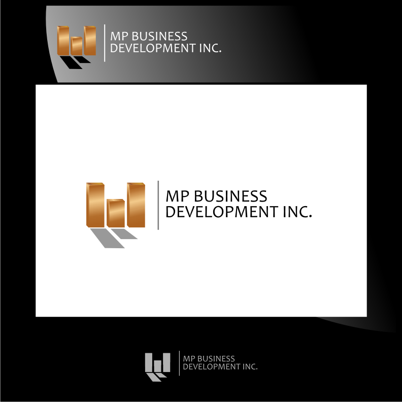 Logo Design by graphicleaf - Entry No. 241 in the Logo Design Contest MP Business Development Inc. Logo Design.