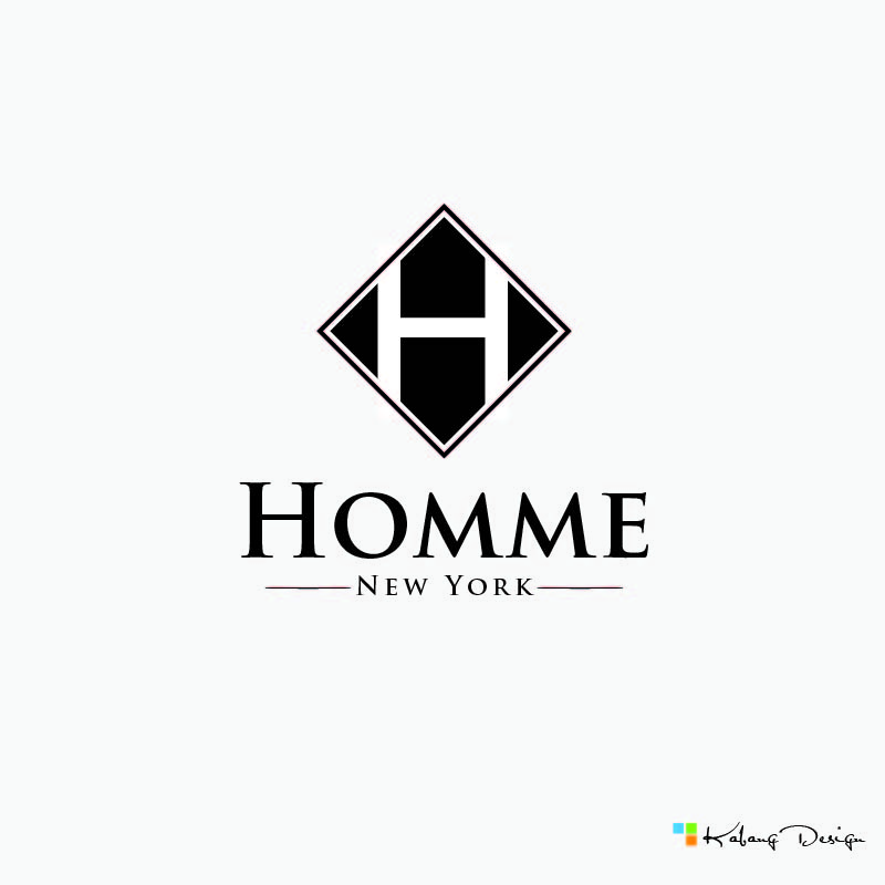 Logo Design by RHANCY ORPINADA - Entry No. 64 in the Logo Design Contest Artistic Logo Design for HOMME | NEW YORK.